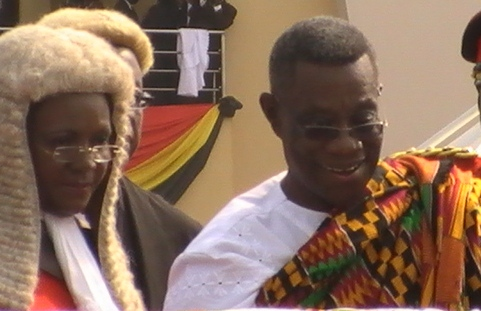 President Atta-Mills takes office