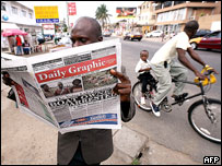 Daily Graphic is well resourced in Ghana