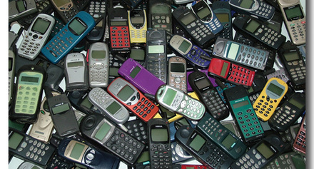 Mobile phones come in different shapes and sizes